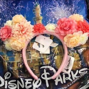 Disney floral ears NWT